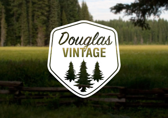 Logo design for a vintage store out of Moscow, Idaho.